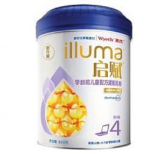 历史低价:惠氏儿童配方奶粉4段900g