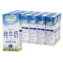 纽麦福 全脂纯牛奶 1L*12盒