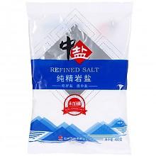 凑单品、历史低价:中盐 未加碘 纯精岩盐 400g