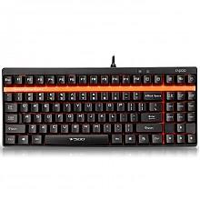 雷柏 V500 87键盘 机械键盘黑轴