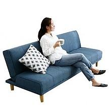 奥古拉两用折叠布艺沙发床