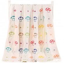 象宝宝婴儿多功能纱布盖毯 115X120CM