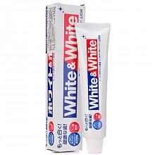 狮王White&white美白牙膏150g