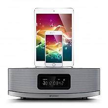 新品发售:山水MC-612N双苹果接口多功能组合音响