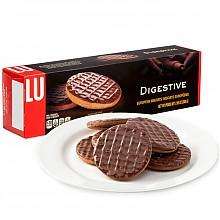 露怡巧克力消化饼干200g *5件