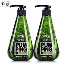 胡歌推荐:LG竹盐按压式牙膏 285g*2瓶