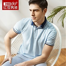 红豆旗舰店男士短袖polo衫