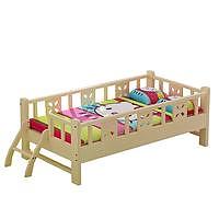 木巴实木婴儿床