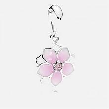 潘多拉 木兰花系列花朵吊坠