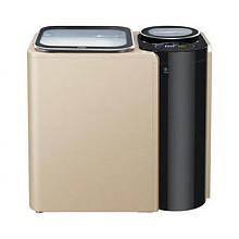 海尔波轮10公斤子母机免清洗洗衣机