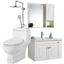 预售:箭牌卫浴 荣耀至尊套餐马桶AE1024+欧式浴室柜AE2502+花洒套餐AE3309s