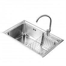 苏泊尔不锈钢厨房水槽68*45cm