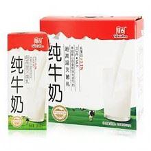 限华东:辉山 超高温灭菌纯牛奶 250mlx12盒
