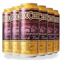 布鲁杰克 黑啤酒 500ml*6听