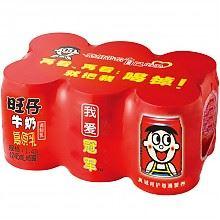 旺旺 旺仔牛奶 铁罐装 245ml*6罐 *4件
