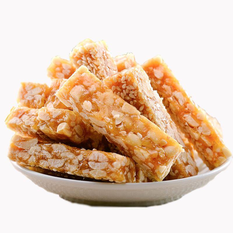 桂林芝麻花生酥芝麻酥糖500g*2袋