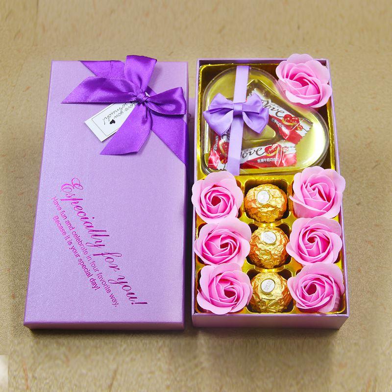 费列罗德芙巧克力浪漫礼盒装