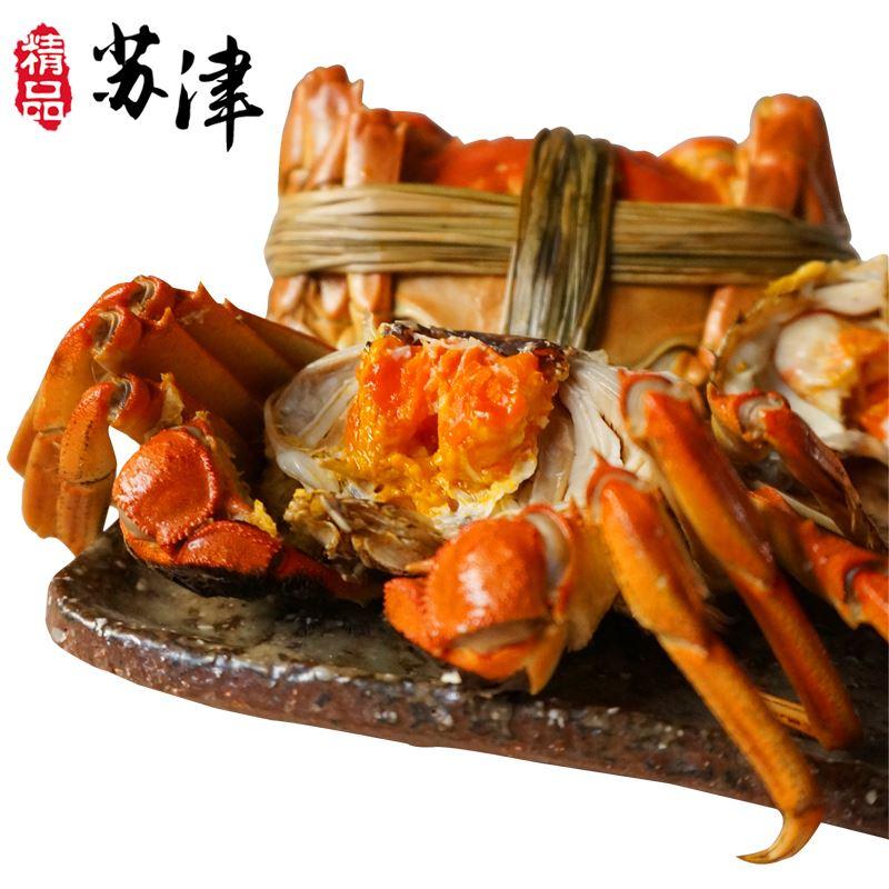 鲜活大闸蟹公母螃蟹【大蟹3对】