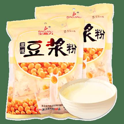 宝嘉力旗舰店豆浆粉518克x2袋
