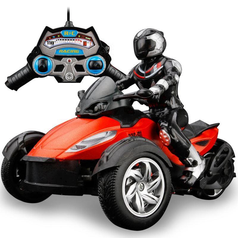 菲依超大遥控漂移摩托车玩具