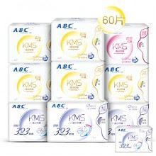 ABC棉柔舒适日夜卫生巾组10包
