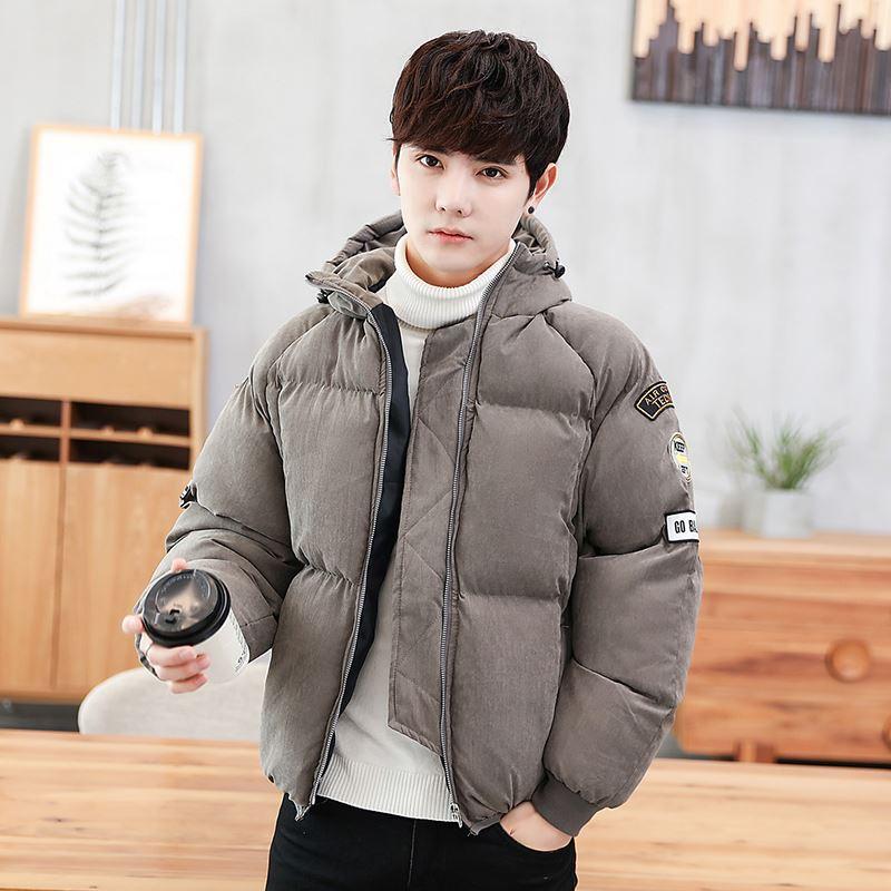 韩版潮流学生羽绒面包服